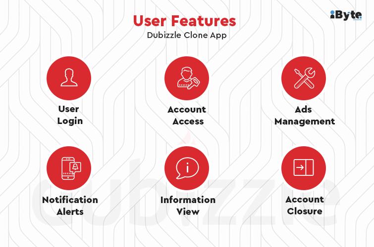 Dubizzle app user features