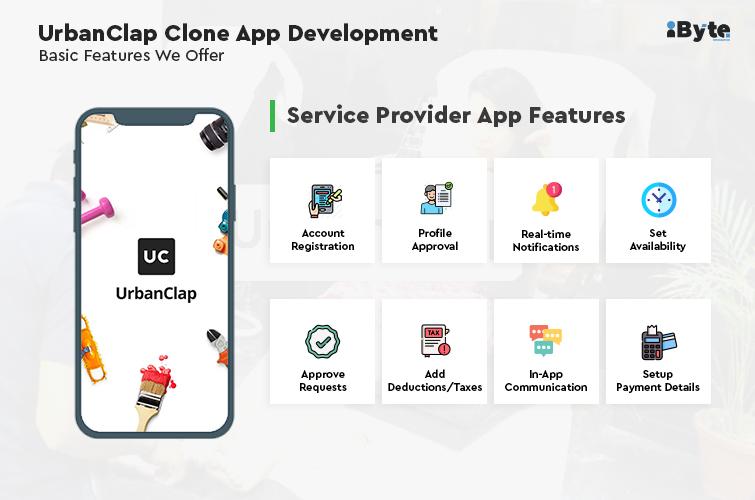UrbanClap - Service provider features