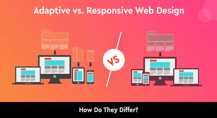 Adaptive vs. Responsive Web Design