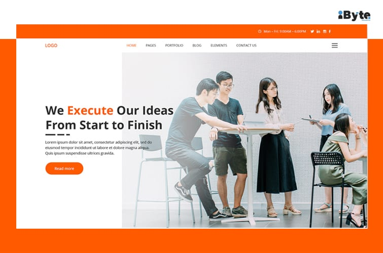 Homepage Design Ideas