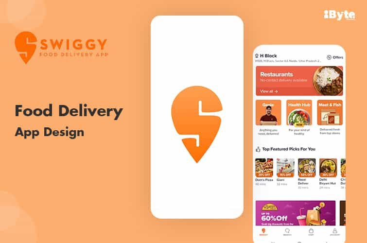 Swiggy the best food delivery app