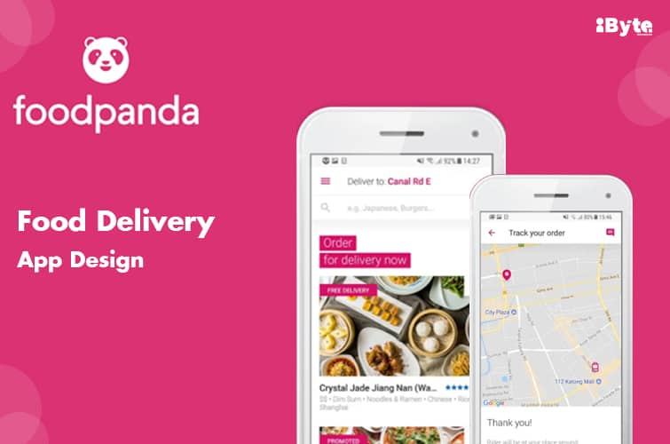 Check out Foodpanda App for faster food delivery