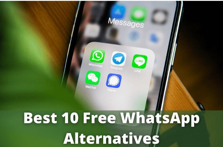 Create A Messaging App Like Whatsapp, Best 10 free whatsapp alternatives,